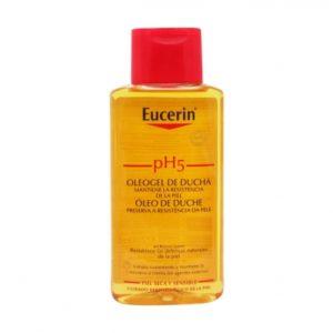 200ml, Eucerin Huile, Eucerin dušiõli, kuiva naha hooldus, atoopilise naha hooldus, eriti kuiva naha hügieen